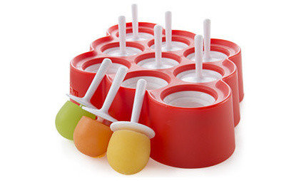 Contemporary Popsicle Molds by Zoku