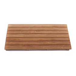 ARB SpaTeak - ARB Teak SpaTeak Shower Mat Multicolor - MAT2414 - Shop for Mats and Rugs from Hayneedle.com! If you want to know why it s called athlete s foot and not lumberjack s foot make the ARB Teak SpaTeak Shower Mat a part of your daily routine. Built from grade A plantation teak an exceptionally strong and durable hardwood that s naturally resistant to mold and moisture this beautiful low-maintenance wood mat is the ideal bathroom accessory for keeping your feet looking clean and beautiful.About ARB Teak & SpecialtiesBased in Quebec ARB Teak & Specialties is one of the largest distributors of teak in North America. Founded in 1995 ARB creates luxurious custom-made teak furnishings designed to enhance the beauty and comfort of your home s indoor and outdoor spaces. By specializing in teak a hardwood that s famous for its strength and natural resistance to moisture and decay ARB Teak is able to provide elegant lifestyle products of unparalleled quality and durability. All ARB products are crafted from responsibly harvested solid grade A plantation teak wood along with high-quality rust-free hardware of solid brass and stainless steel for a lifetime of low-maintenance performance.
