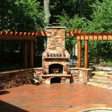 Contemporary Fire Pits by Signature Outdoor Concepts
