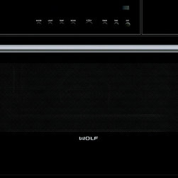 """Wolf 30"""" M Series Contemporary Convection Steam Oven Black   CSO30CM - Wolf 30"""" M Series Contemporary Convection Steam Oven Black   CSO30CM"""