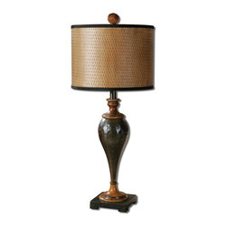 Uttermost - Uttermost Javini Metal Table Lamp - 29547-1 - Uttermost Javini Metal Table Lamp - 29547-1