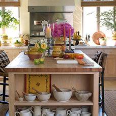 New Traditional Kitchen - Yellow Decor Ideas - House Beautiful