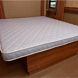 Innerspace - InnerSpace 5.5-inch Twin-size RV Foam Mattress - Sleep comfortably while you are traveling to and from in your RV with this comfortable twin-size foam mattress. It is made from a plush foam material that will give you the support your body needs to recover after a long day of driving.