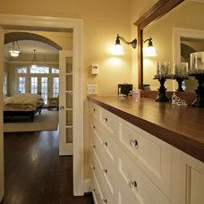 Traditional Bedroom by Sharratt Design & Company