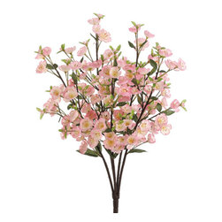 Silk Plants Direct - Silk Plants Direct Apple Blossom Bush (Pack of 12) - Pink - Pack of 12. Silk Plants Direct specializes in manufacturing, design and supply of the most life-like, premium quality artificial plants, trees, flowers, arrangements, topiaries and containers for home, office and commercial use. Our Apple Blossom Bush includes the following: