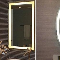 LED Backlit Bath Mirrors - LED Back lit Mirrors Many sizes available