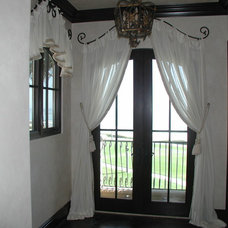 Eclectic Curtains by Installations Etc.