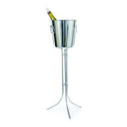 Franmara - 29.25 Inch Three-Leg Wine Stand For Ideal Wine and Champagne Chiller - This gorgeous 29.25 Inch Three-Leg Wine Stand For Ideal Wine and Champagne Chiller has the finest details and highest quality you will find anywhere! 29.25 Inch Three-Leg Wine Stand For Ideal Wine and Champagne Chiller is truly remarkable.
