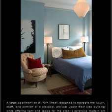Traditional Bedroom by Anik Pearson Architect, P.C.