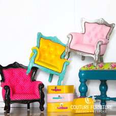 contemporary armchairs by Couture Furniture