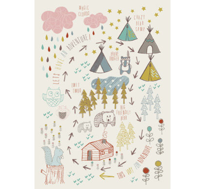 contemporary kids decor by L'Affiche Moderne