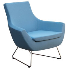 contemporary armchairs by Cressina