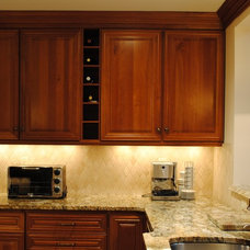 Mediterranean Kitchen Cabinets by Sterling Kitchen & Bath