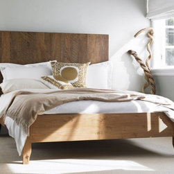 Plank Vintage Bed - If you're on a rustic chic bender, why not make sure you're also being eco-friendly? After all, you'll want to protect the beauty of the woods that inspired your interior decor, right? This gorgeous bed is hand-planed from planks salvaged from razed buildings and the boards are up to 100 years old.