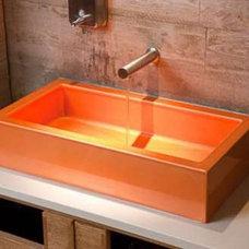 Modern Bathroom Sinks Coloful bathroom sink
