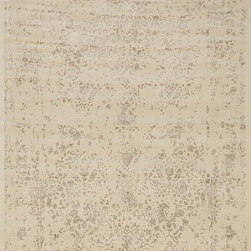 """Loloi - Loloi Journey JO-02 (Antique Ivory, Mocha) 5' x 7'6"""" Rug - This Machine Made rug would make a great addition to any room in the house. The plush feel and durability of this rug will make it a must for your home. Free Shipping - Quick Delivery - Satisfaction Guaranteed"""
