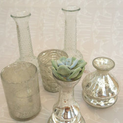 Assorted Vases & Votives - At amydutton Home you can find all sorts of home decor accessories!  There are many cash and carry items available at amydutton Home, like these vases!