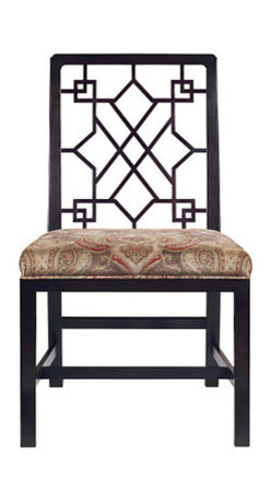 Chinese Chippendale Side Chair - Very old school Chippendale chair from a design from 1760. This chair is a great example to me of why good design never goes out of style - it still feels fresh, almost modern.