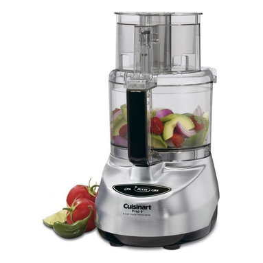 Cuisinart Prep Plus Food Processor - Perhaps the greatest invention in the modern era of cooking, every kitchen must have a food processor. Do yourself a favor and buy the large version, this saves more time than can be imagined.