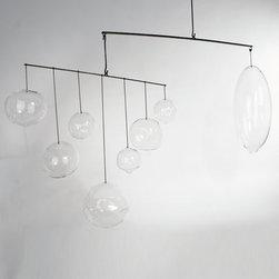 Sklo - Sklo | Send Suspended Object - Design by Karen Gilbert and Paul Pavlak.