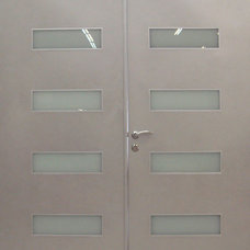 Contemporary Front Doors by Milano Doors