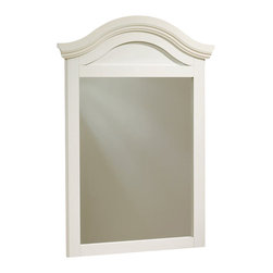 "South Shore - South Shore Summer Breeze Collection Dresser Mirror in White Wash - South Shore - Mirrors - 3210120 - The Summer Breeze Mirror is a fresh and vibrant addition to a room with a casual decor most prominently featuring a recessed panel arched crown with decorative molding and beveled edges along the sides of the frame. The mirror's white wash finish completes the appeal of the mirror and it's designation as a ""Summer Breeze""."