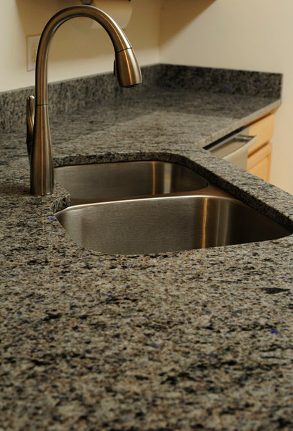 Contemporary Kitchen Countertops by Stone Surface Design