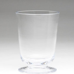Global Views - Global Views BB-6.60000 Clear View Transitional Vase - Small - Global Views BB-6.60000 Clear View Transitional Vase - Small