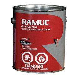 REPUBLIC POWERED METALS - Ramuc Epoxy Pool Paint Dawn Blue 1 Gallon - Ramuc - 1 gallon.