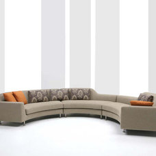 Contemporary Sectional Sofas by cliffyoungltd.com