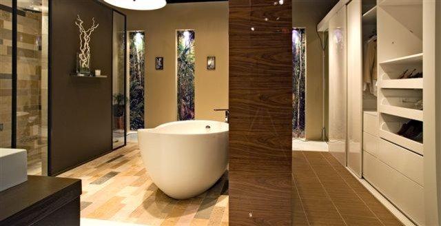 Contemporary Bathroom by Artistic Tile