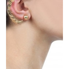 Princess leaf gold ear cuff available only at Pernia's Pop-Up Shop.