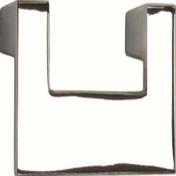 Atlas Homewares - Atlas A846-Ch U-Turn 3-Inch Single Medium Door Pull Polished Chrome - Atlas A846-Ch U-Turn 3-Inch Single Medium Door Pull Polished Chrome