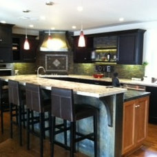 Eclectic Kitchen by Nar Fine Carpentry, Inc./Design.Build.Cabinetry