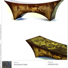 Contemporary Indoor Benches by Peart Republic LLC