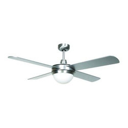 Hampton Bay - Indoor Ceiling Fans: Hampton Bay Futura Eco 52 in. Aluminum Downrod Ceiling Fan - Shop for Lighting & Fans at The Home Depot. This transitional ceiling fan is ideal for room where maximum airflow is required. The ceiling fan's 3 operating speeds and reverse-air function provide an all year round comfortable interior temperature. Powered by a quiet motor and the 2 -light frosted glass create a relaxing atmosphere.