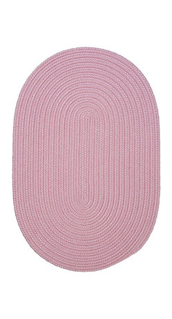 Colonial Mills - Colonial Mills Boca Raton BR77 Light Pink Rug BR77R144X180 12x15 - Just pick a coloreany colorethey are all here! This colorful outdoor rug utilizes a simple flat braid construction in an array of colors to put a fashionable stamp on your decor.
