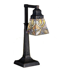 "Meyda Lighting - Meyda Lighting 27636 20""H Glasgow Bungalow Desk Lamp - Meyda Lighting 27636 20""H Glasgow Bungalow Desk Lamp"