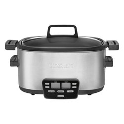 Cuisinart - Cuisinart 6-Quart 3-in-1 Multicooker Cook Central - 3 fully programmable cooking functions: slow cook, brown/saute or steam