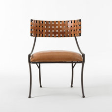 modern chairs by Bunny Williams
