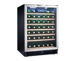 Danby - 50-Bottle Built-in or Freestanding Wine Cooler - -50 bottle (5.3 cu. ft.) capacity