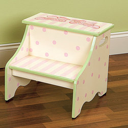 Step Stools for Kids - More adorable designs available, all with optional personalization!