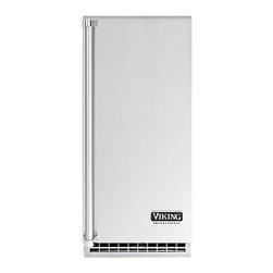 Viking 15 Inch Outdoor Ice Machine Door Panel, Right Hinge - Professional Outdoor stainless steel door panel, Right Hinge