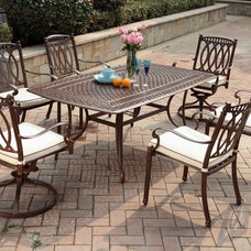 Traditional Outdoor Dining Sets by Open Air Lifestyles, LLC