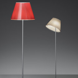 Choose floor, design by Matteo Thun - 2006, 2007 - Floor standing luminaires with adjustable diffuser for direct and diffused LED, fluorescent, halogen or incandescent lighting