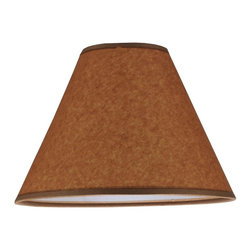 Meyda Tiffany - 10 in. Round Replacement Shade - Made from parchment. Oil finish. 10 in. Dia. x 7 in. H