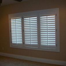 Eclectic Window Blinds by Kirtz Shutters & Window Fashions