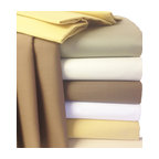 Bed Linens - 22 Inch Super Deep Pocket 600TC Egyptian cotton sheets Queen White - * 600 Thread Count Extra Deep Pocket Sheet Set.