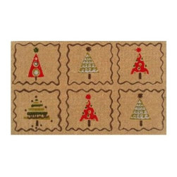 Momentum Mats - Momentum Mats Christmas Trees 29 in. x 17 in. Coir and Vinyl Door Mat 12105 - Shop for Holiday Decorations at The Home Depot. Made of natural coir and vinyl-backed for stability and to prevent movement. Our door mat is filled with holiday cheer and is a durable addition to any porch or patio area. Wonderful for the holidays and all winter long.