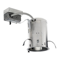 "Juno Lighting - PL518RE 5"" Non-IC Remodel Housing - 18W Triple Vertical CFL - 5"" Non-IC Remodel Housing - 18W Triple Vertical CFL"